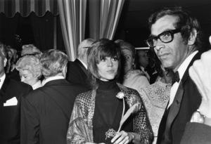 """The 42nd Annual Academy Awards""Jane Fonda, Roger Vadim1970© 1978 Gunther - Image 1812_0037"