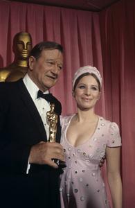 """The 42nd Annual Academy Awards""John Wayne, Barbra Streisand1970 © 1978 Bud Gray - Image 1812_0040"