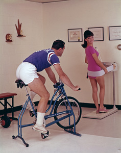 """""""Working Out / Exercising"""" circa 1965 © 1978 Sid Avery - Image 1819_0019"""