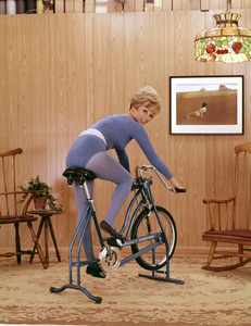 """""""Working Out / Exercising"""" circa 1965 © 1978 Sid Avery - Image 1819_0023"""