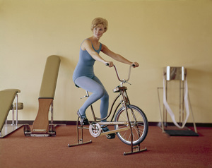 """""""Working Out / Exercising"""" circa 1965 © 1978 Sid Avery - Image 1819_0025"""