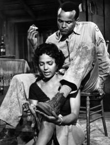 """""""Carmen Jones""""Dorothy Dandridge, Harry Belafonte1954 20th Century Fox**I.V. - Image 18239_0020"""