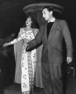 """Gilda"" Rita Hayworth, Jack Cole (choreographer).Columbia, 1946** I.V. - Image 18278_0024"