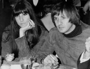"""""""Spy Who Came in From the Cold"""" Premiere, 1966Sonny and Cher © 1978 Chester Maydole - Image 18365_0002"""