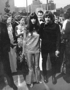 """Khartoum"" Premiere, 1966Sonny and Cher © 1978 Chester Maydole - Image 18369_0001"