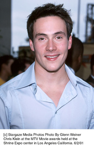 © Stargaze Media Photos Photo By Glenn WeinerChris Klein at the MTV Movie awards held at theShrine Expo center in Los Angeles California. 6/2/01 - Image 18389_0100