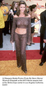 © Stargaze Media Photos Photo By Glenn WeinerShannon Elizabeth at the MTV Movie awards heldat the Shrine Expo center in Los Angeles California.6/2/01 - Image 18389_0146
