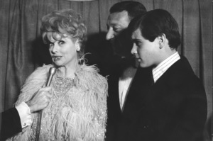 """Thoroughly Modern Millie"" Premiere, 1967Lucille Ball, Gary Morton, Desi Arnaz Jr. © 1978 Chester Maydole - Image 18409_0001"