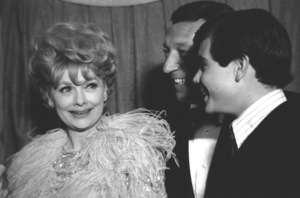 """Thoroughly Modern Millie"" Premiere, 1967Lucille Ball, Gary Morton, Desi Arnaz Jr. © 1978 Chester Maydole - Image 18409_0002"