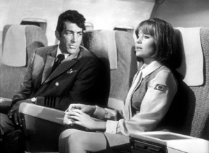 """""""Airport""""Dean Martin and Jacqueline Bisset.1970 /  Universal. - Image 1847_0010"""
