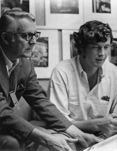 """""""The Andromeda Strain""""Director Robert Wise, writer Michael Crichton1971 Photo by Larry Barbier - Image 1849_0006"""