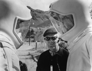 """""""The Andromeda Strain""""Director Robert Wise1971 Photo by Larry Barbier - Image 1849_0007"""