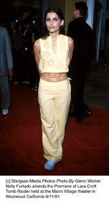 © Stargaze Media Photos Photo By Glenn WeinerNelly Furtado attends the Premiere of Lara CroftTomb Raider held at the Mann Village theater inWestwood California 6/11/01 - Image 18500_0110