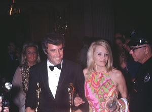 """Academy Awards - 41st Annual""Burt Bacharach, Angie Dickinson1969 © 1978 Gunther - Image 1860_0018"
