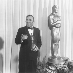 """""""Academy Awards: 41st Annual""""Mel Brooks with his Oscar for the screenplay of """"The Producers""""1969 - Image 1860_0029"""