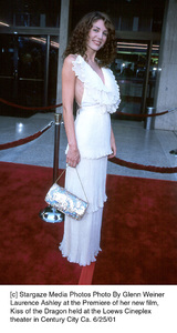 © Stargaze Media Photos Photo By Glenn WeinerLaurence Ashley at the Premiere of her new film,Kiss of the Dragon held at the Loews Cineplextheater in Century City Ca. 6/25/01 - Image 18615_0107