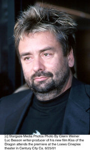 © Stargaze Media Photos Photo By Glenn WeinerLuc Besson writer-producer of his new film Kiss of the Dragon attends the premiere at the Loews Cineplex theater in Century City Ca. 6/25/01 - Image 18615_0109