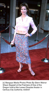 © Stargaze Media Photos Photo By Glenn WeinerShaun Bagwell at the Premiere of Kiss of the Dragon held at the Loews Cineplex theater inCentury City California. 6/25/01 - Image 18615_0110