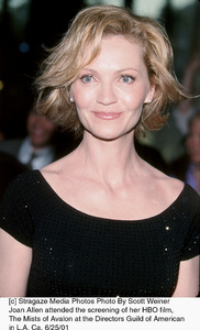 © Stragaze Media Photos Photo By Scott WeinerJoan Allen attended the screening of her HBO film,The Mists of Avalon at the Directors Guild of Americanin L.A. Ca. 6/25/01 - Image 18617_0102