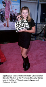 Beverley Mitchell at the Premiere of Legally Blondeheld at the Mann Village theater in WestwoodCalifornia, 6/26/01. © 2001 Glenn Weiner - Image 18646_0105