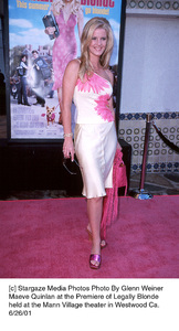 Maeve Quinlan at the Premiere of Legally Blondeheld at the Mann Village theater in Westwood Ca.6/26/01. © 2001 Glenn Weiner - Image 18646_0113