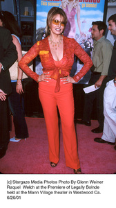 Raquel  Welch at the Premiere of Legally Bolndeheld at the Mann Village theater in Westwood Ca.6/26/0. © 2001 Glenn Weiner1 - Image 18646_0118