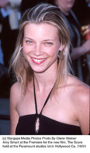 Amy Smart at the Premiere for the new film, The Score held at the Paramount studios lot in Hollywood Ca. 7/9/01. © 2001 Glenn Weiner - Image 18766_0100