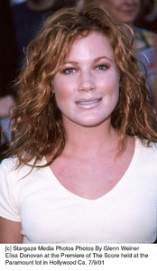 Elisa Donovan at the Premiere of The Score held at theParamount lot in Hollywood Ca. 7/9/01. © 2001 Glenn Weiner - Image 18766_0107