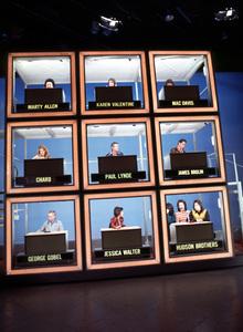 """Hollywood Squares"" Marty Allen, Karen Valentine,Mac Davis, Charo, Paul Lynde, James Brolin,George Gobel, Jessica Walter and The Hudson Brothers © 1978 Gene Trindl - Image 1880_0042"