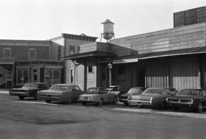 """""""The High Chaparral"""" (offices)circa 1967© 1978 Roy Cummings - Image 1883_0013"""