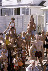 """Cast party for """"Peyton Place""""1965 © 1978 Gene Trindl - Image 18855_0003"""