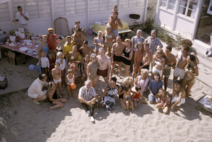 """Cast party for """"Peyton Place""""1965 © 1978 Gene Trindl - Image 18855_0005"""