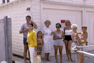 """Cast party for """"Peyton Place""""Ed Nelson, Barbara Parkins1965 © 1978 Gene Trindl - Image 18855_0006"""
