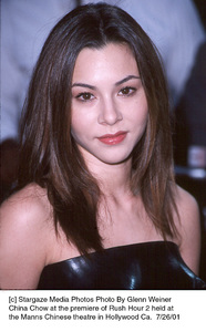 China Chow at the premiere of Rush Hour 2 held atthe Manns Chinese theatre in Hollywood Ca.  7/26/01. © 2001 Glenn Weiner - Image 18861_0103
