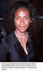 Jada Pinkett Smith at the Premiere of Rush Hour 2held at the Manns Chinese theatre in Hollywood Ca. 7/26/01. © 2001 Glenn Weiner - Image 18861_0112