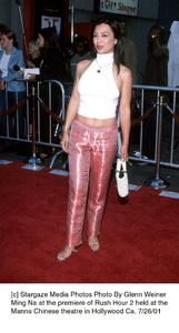 Ming Na at the premiere of Rush Hour 2 held at theManns Chinese theatre in Hollywood Ca. 7/26/01. © 2001 Glenn Weiner - Image 18861_0118