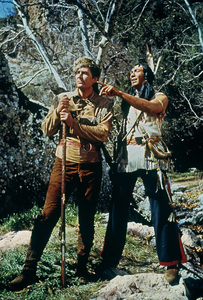 """Daniel Boone""Fess Parker, Ed Ames1966Photo by Bud Gray - Image 1886_0004"