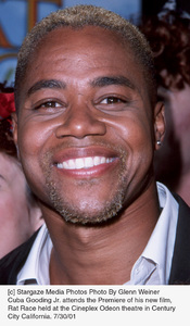 Cuba Gooding Jr. attends the Premiere of his new film,Rat Race held at the Cineplex Odeon theatre in Century City California. 7/30/01. © 2001 Glenn Weiner - Image 18920_0111