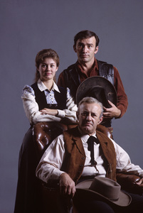 """The Virginian""James Drury, Lee J. Cobb, Roberta Shore1965© 1978 Gene Trindl - Image 1897_0009"