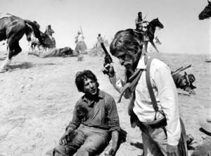 """Little Big Man""Dustin Hoffman and Richard Mulligan1970 UA © 1978 Mel Traxel - Image 1900_0003"