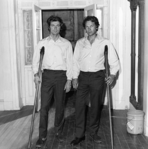 """""""The Beguiled""""Clint Eastwood with his body double1971 Universal Pictures** I.V. - Image 1903_0021"""