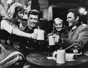 """Where Eagles Dare"" Ingrid Pitt, Clint Eastwood, Mary Ure, Richard Burton 1968 MGM - Image 1904_0001"