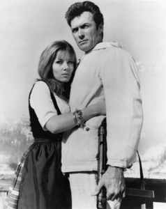 """""""Where Eagles Dare"""" Ingrid Pitt, Clint Eastwood1968 MGM - Image 1904_0002"""
