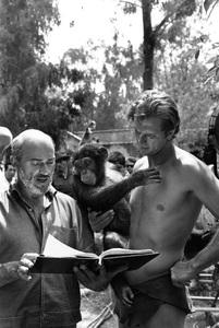 """Tarzan""Ron Ely with his chimp Cheetah1967 © 1978 Gunther - Image 1908_0004"