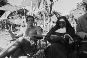 """Ron Ely and Diana Ross during the making of """"Tarzan""""1967 © 1978 Gunther - Image 1908_0007"""