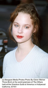 Thora Birch at the world premiere of The Othersheld at the Directors Guild of America in HollywoodCalifornia. 8/7/01. © 2001 Glenn Weiner - Image 19093_0122
