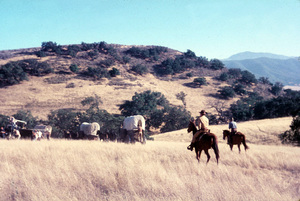 """""""Wagon Train""""1957 NBCPhoto by Gerald SmithMPTV - Image 1910_0002"""