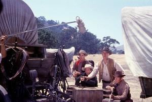 """Wagon Train""Ward Bond, Robert Horton1957 NBCPhoto by Gerald SmithMPTV - Image 1910_0003"