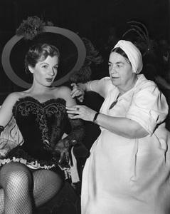 """Colgate Comedy Hour""Seamstress Kate Lawson, Corinne Calvetcirca 1951 NBC © 1978 Gerald Smith - Image 1911_0003"