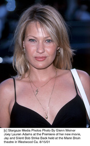 Joey Lauren Adams at the Premiere of her new movie, Jay and Silent Bob Strike Back held at the Mann Bruin theatre in Westwood Ca. 8/15/01. © 2001 Glenn Weiner - Image 19200_0111